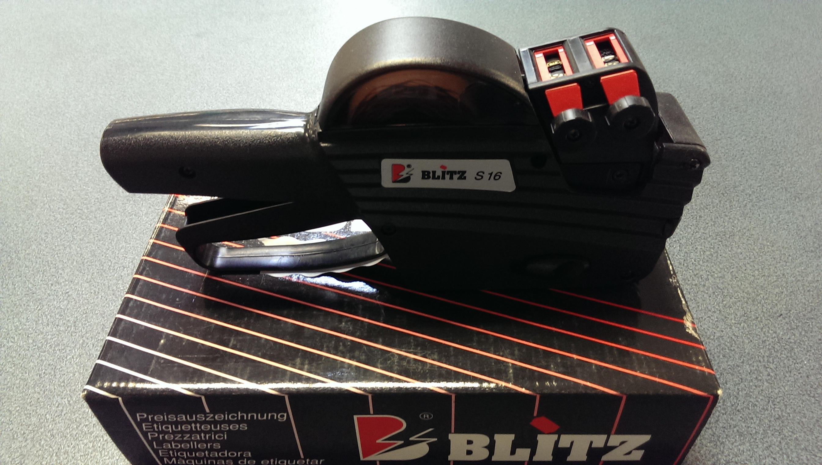 Blitz S16 prijstang