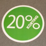 Cirkel groen 20