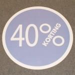 Cirkel lila 40