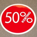 Cirkel rood 50