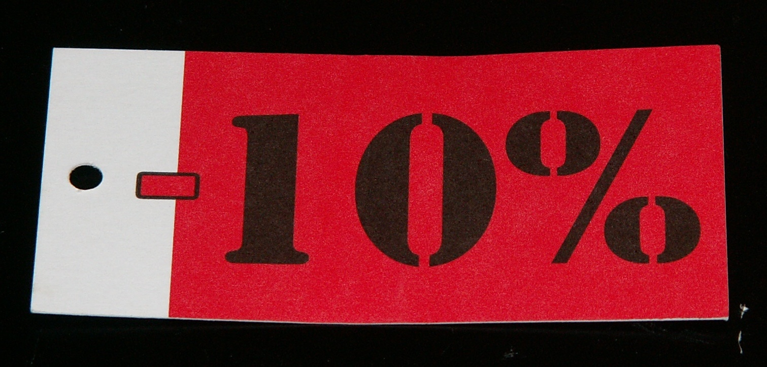 Hangkaartje 10