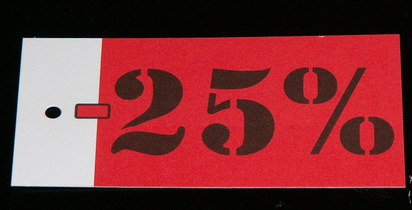 Hangkaartje 25