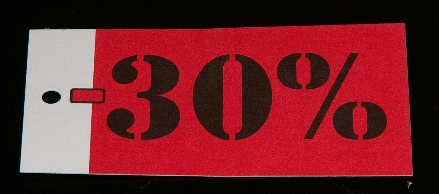 Hangkaartje 30