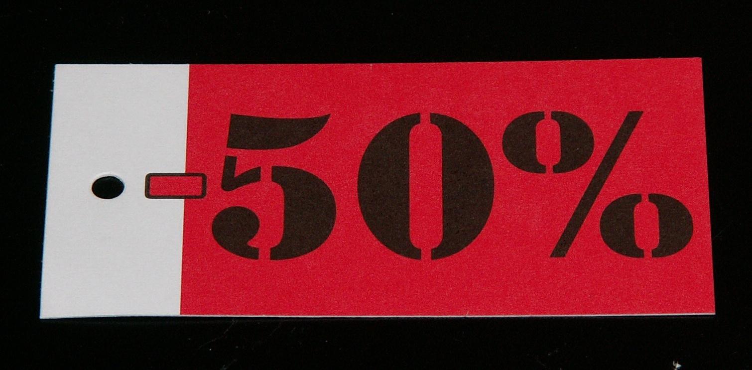 Hangkaartje 50
