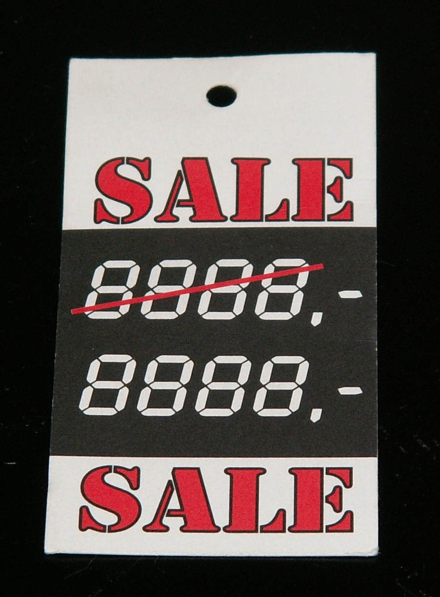 Hangkaartje Sale 2