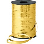 Metallic goud krullint