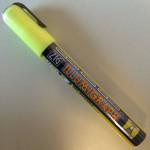 Zig illumigraph PMA 510 geel krijtstift