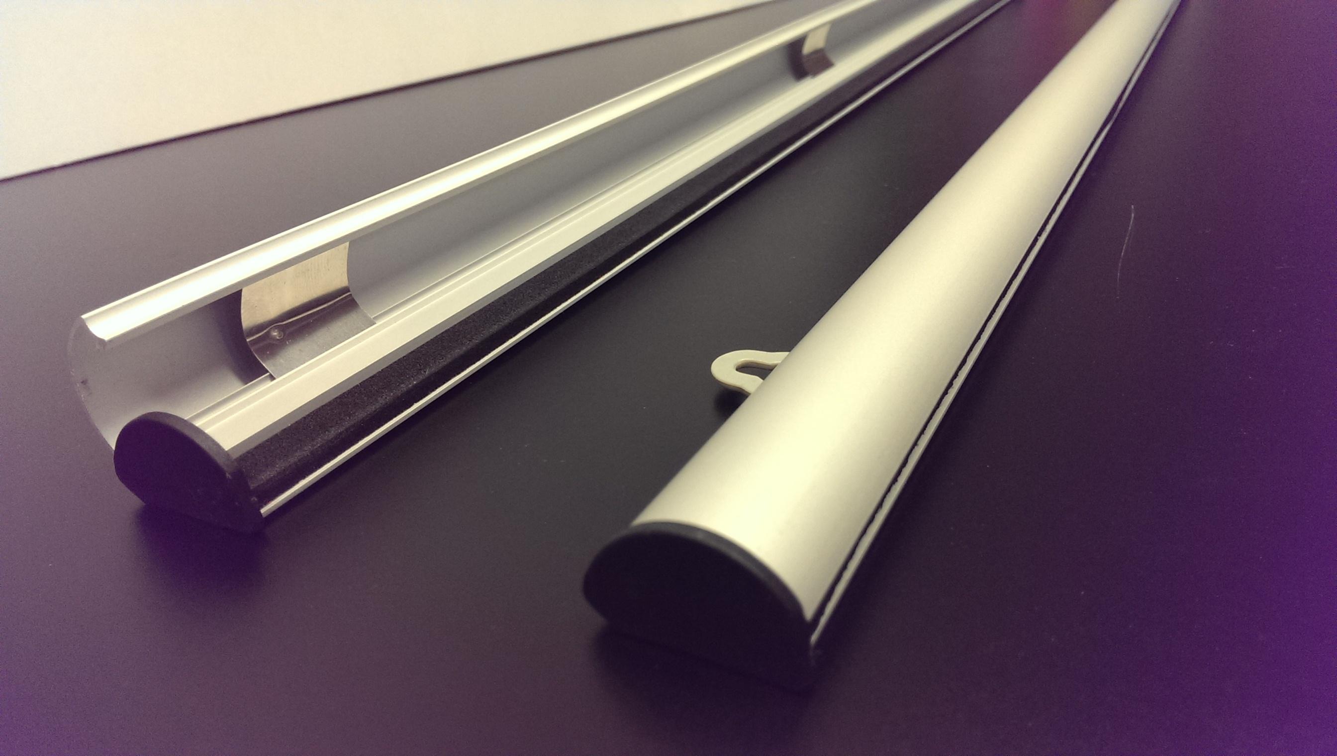 Posterhouder set aluminium
