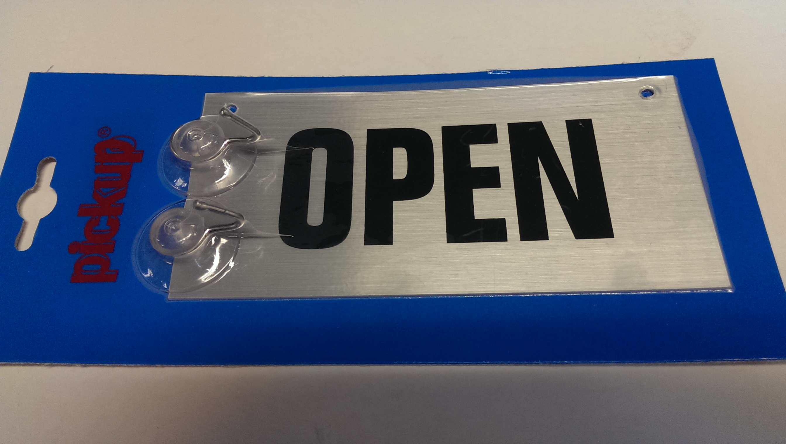 Pickup alu open gesloten