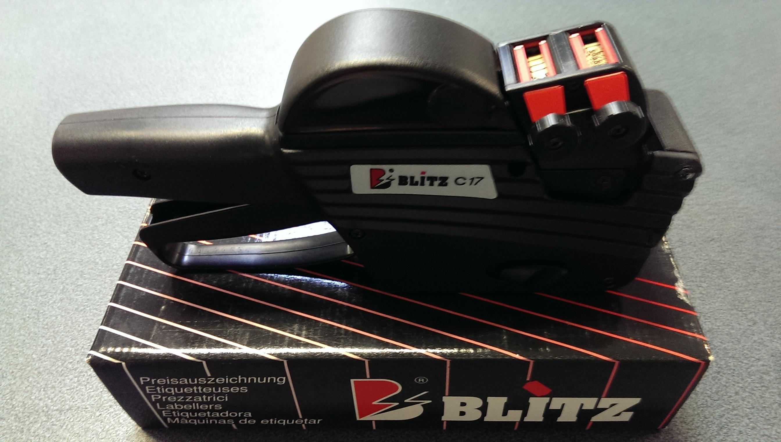 Blitz C17 prijstang