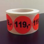 Fluor rood 119,-