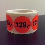 Fluor rood 129,-