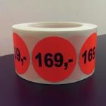Fluor rood 169,-