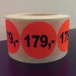 Fluor rood 179,-