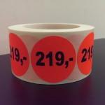 Fluor rood 219,-