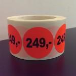 Fluor rood 249,-