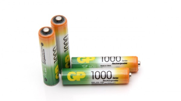 GP 1000 AAA Rechargeable nimh battery