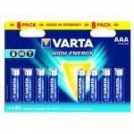 Varta AAA 8 pack