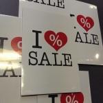 A4 I love Sale