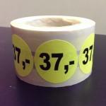Fluor geel 37,-