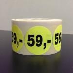 Fluor geel 59,-