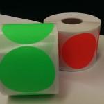Fluor groen 90mm