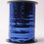 Krullint metallic blauw