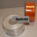 Organza 38 mm Licht oranje