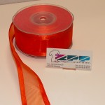 Organza 38 mm Orange