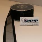 Organza 38 mm zwart