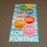 Korting percentages