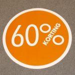 Cirkel oranje 60