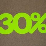 Korting fluor groen 30