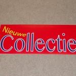 Nieuwe collectie rood blauw