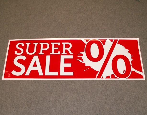 Super Sale zelfklevend