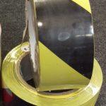 Floormarking tape zwart geel