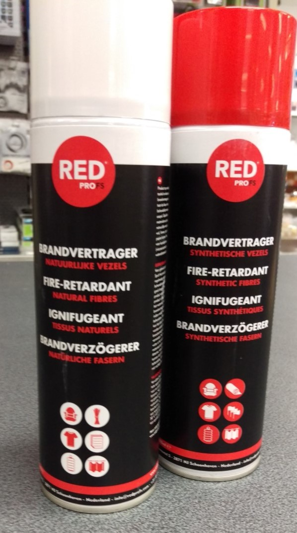 Brandvertragende spray